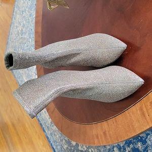 ZARA GLITTER SOCK BOOTIES